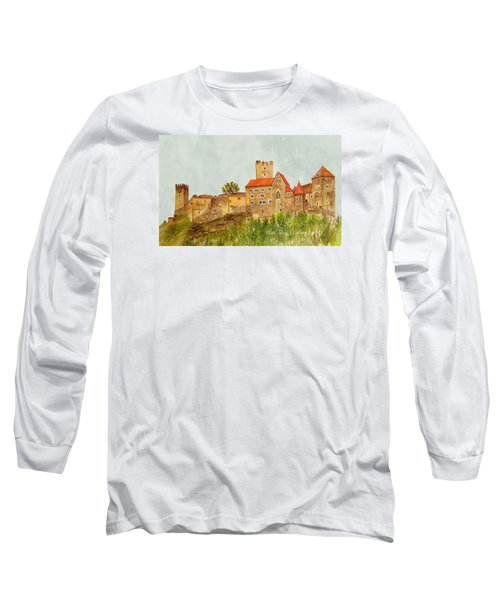 Castle Hardegg Long Sleeve T-Shirt by Angeles M Pomata