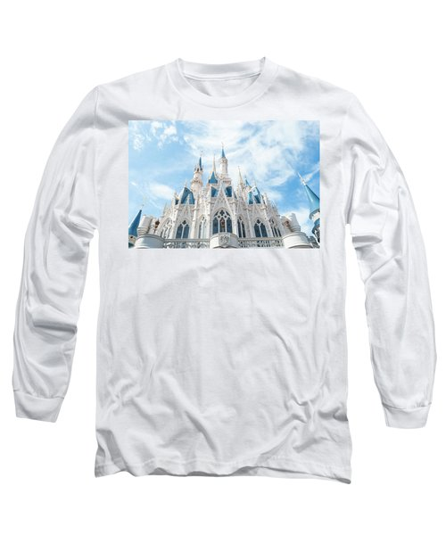 Castle Sky Long Sleeve T-Shirt by Pamela Williams
