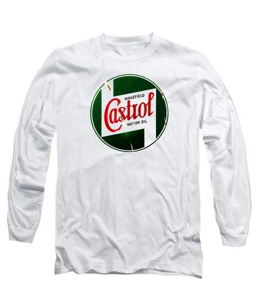 Castrol Motor Oil Long Sleeve T-Shirt