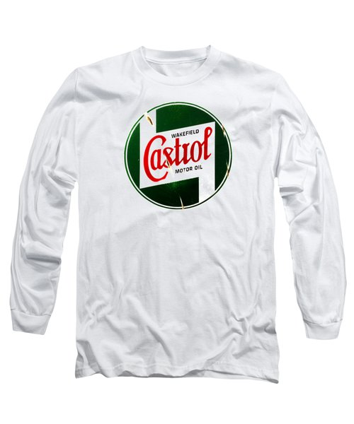 Castrol Motor Oil Long Sleeve T-Shirt
