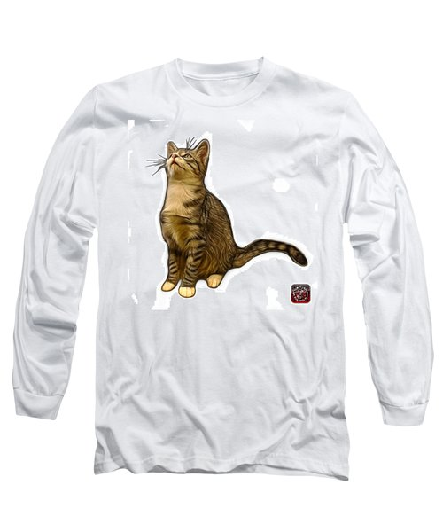 Cat Art - 3771 Wb Long Sleeve T-Shirt