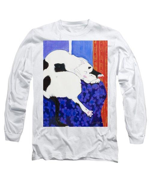 Cat IIi Peaceful   Long Sleeve T-Shirt