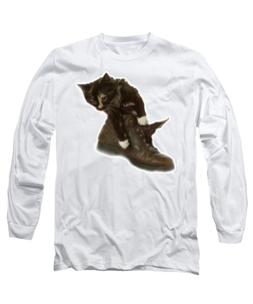 Cat In Boot Long Sleeve T-Shirt
