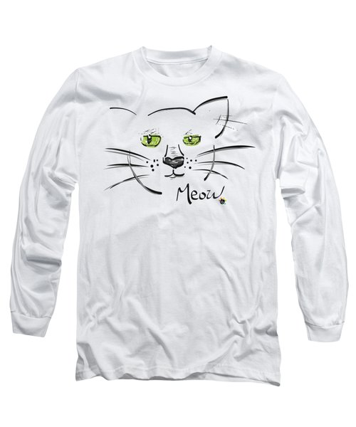 Cat Meow Long Sleeve T-Shirt