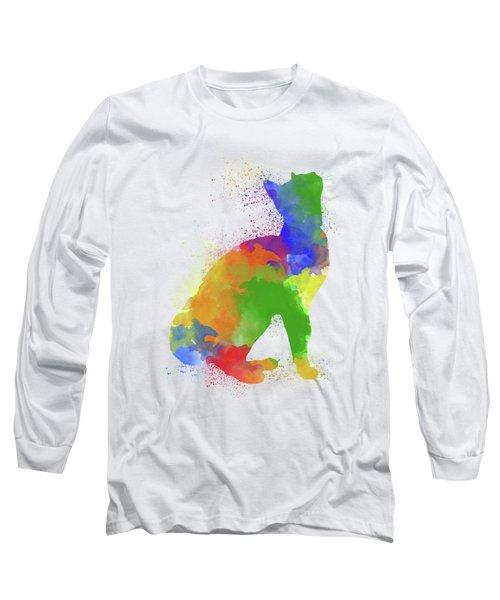Cat Watercolor 1 Long Sleeve T-Shirt