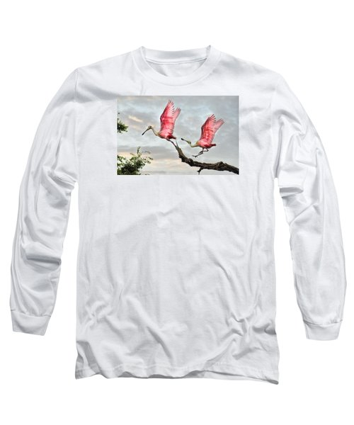 Long Sleeve T-Shirt featuring the photograph Catch Me If You Can by Brian Tarr