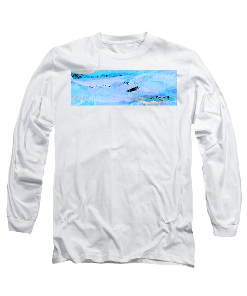 Catching Waves Long Sleeve T-Shirt by Stephanie Grant