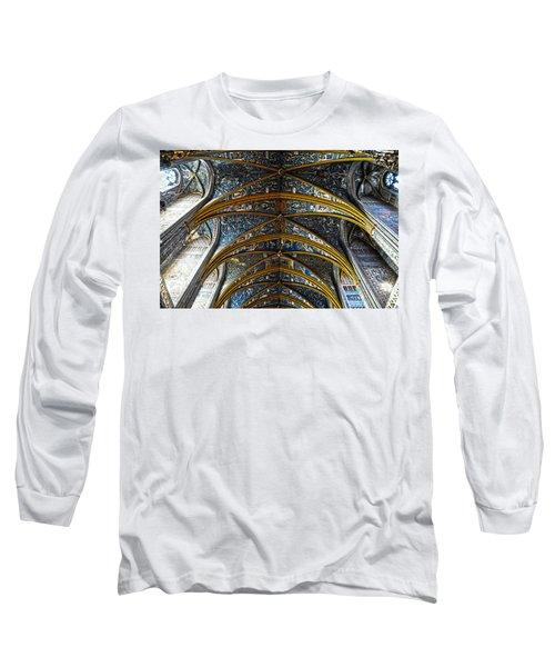 Cathedral Albi Long Sleeve T-Shirt by Thomas M Pikolin