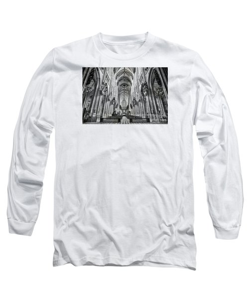 Long Sleeve T-Shirt featuring the photograph Cathedral At Orleans France by Jack Torcello