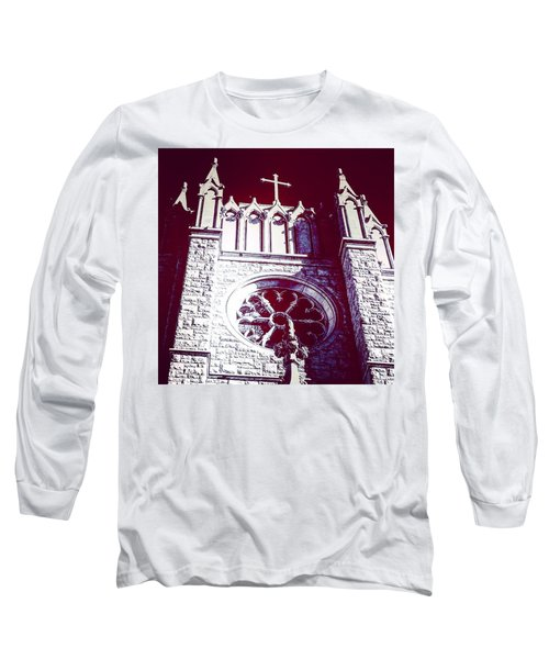 Cathedral In Archangel Glow Long Sleeve T-Shirt