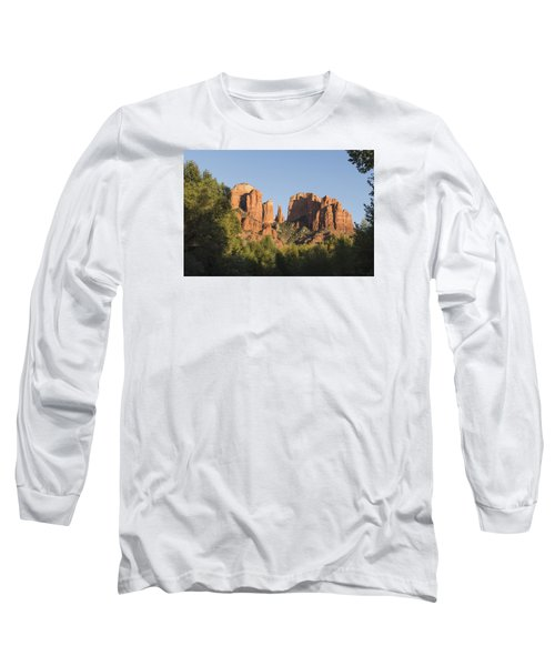 Long Sleeve T-Shirt featuring the photograph Cathedral In The Trees by Laura Pratt