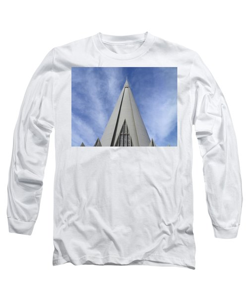 Cathedral Minor Basilica Our Lady Of Glory Long Sleeve T-Shirt by Bruna Lima