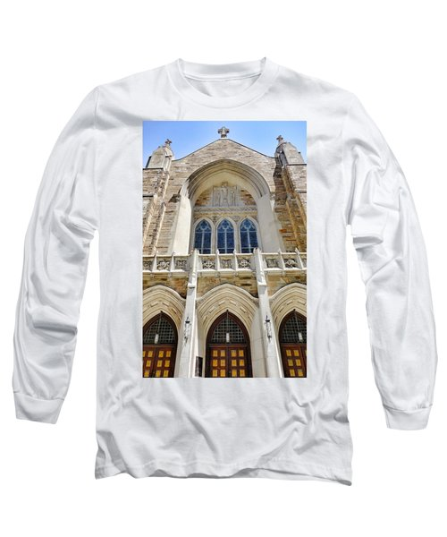 Cathedral Of St John Front Long Sleeve T-Shirt