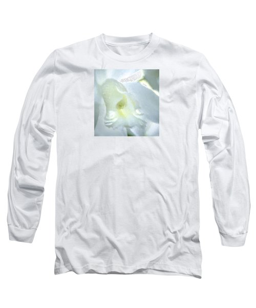 Cattleya Orchid #3 Long Sleeve T-Shirt by George Robinson