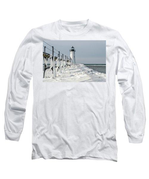 Catwalk With Icy Fringe - Horizontal Version Long Sleeve T-Shirt