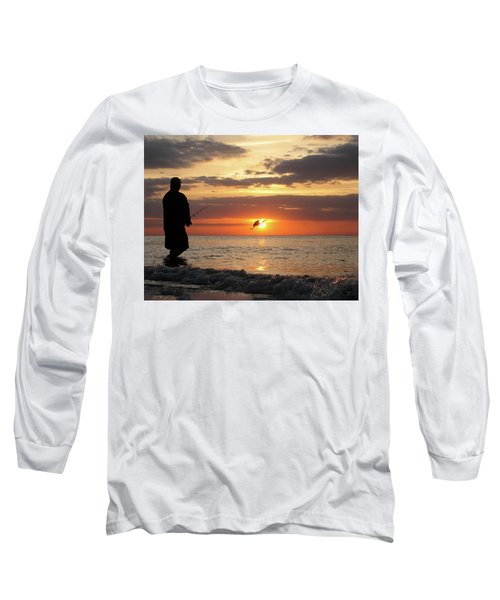 Caught At Sunset Long Sleeve T-Shirt
