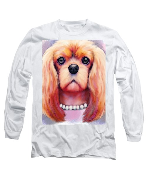 Cavalier Pearls  Long Sleeve T-Shirt