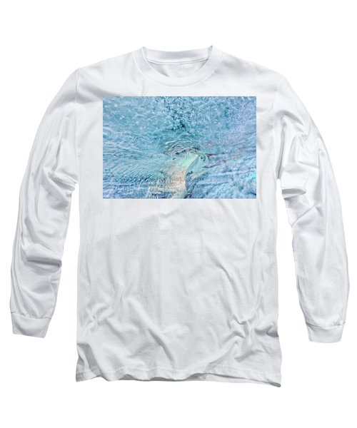 Long Sleeve T-Shirt featuring the photograph Cave Colors by Wanda Krack
