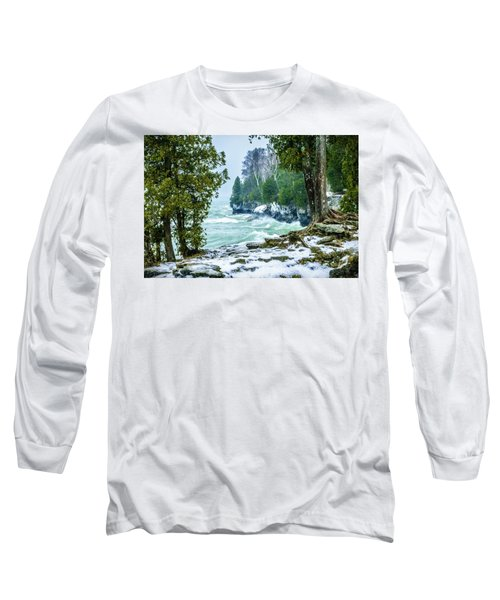 Cave Point #5 Long Sleeve T-Shirt