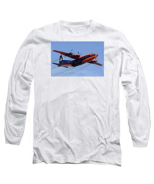 Cavok Air Antonov An-12b Ur-ckl Phoenix Sky Harbor December 2 2015 Long Sleeve T-Shirt by Brian Lockett