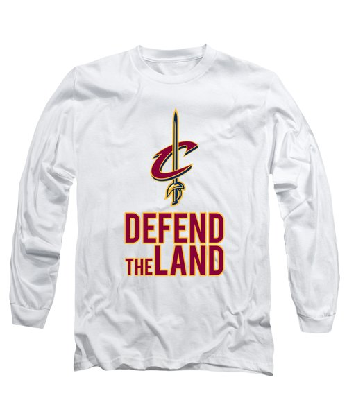 Cavs1 Long Sleeve T-Shirt by Jarryd Laurel