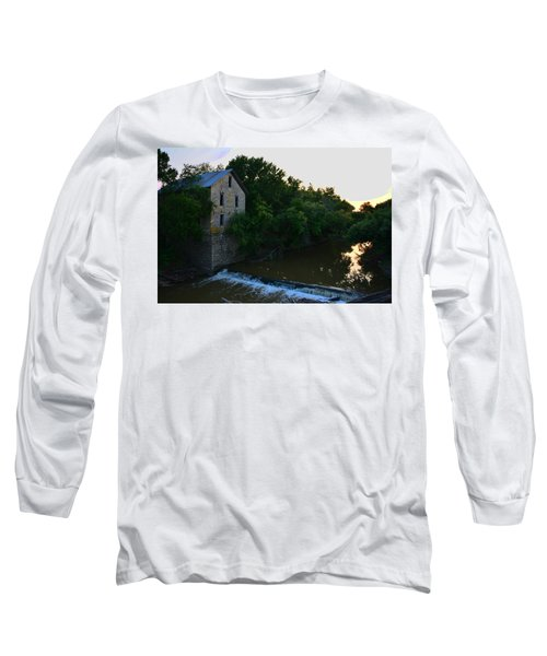Cedar Point Mill Long Sleeve T-Shirt by Keith Stokes