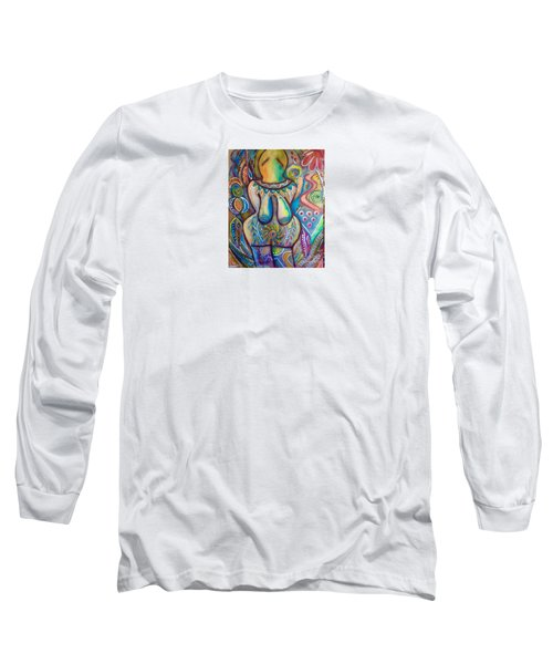 Celebrate The Feminine Power  Long Sleeve T-Shirt by Corina  Stupu Thomas