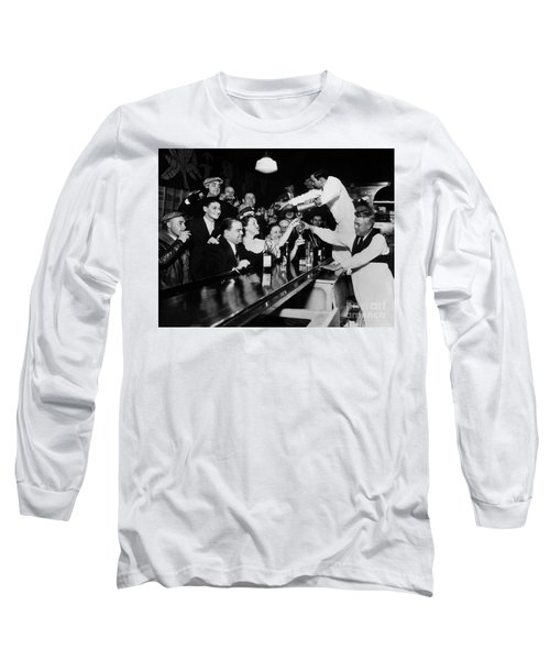 Celebrating The End Of Prohibition Long Sleeve T-Shirt