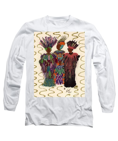 Celebration Long Sleeve T-Shirt by Angela L Walker
