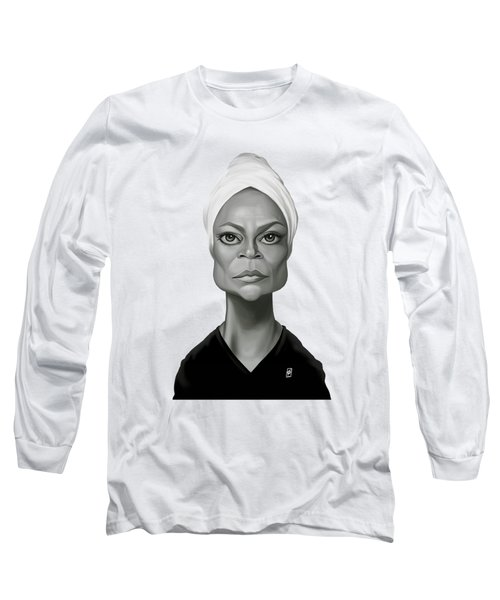 Celebrity Sunday - Eartha Kitt Long Sleeve T-Shirt