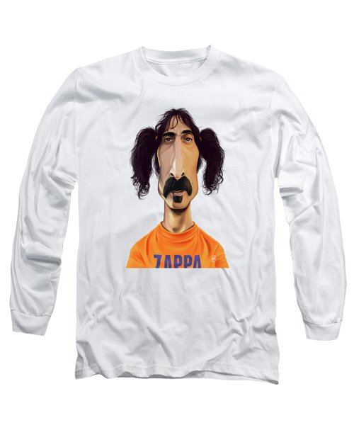 Celebrity Sunday - Frank Zappa Long Sleeve T-Shirt