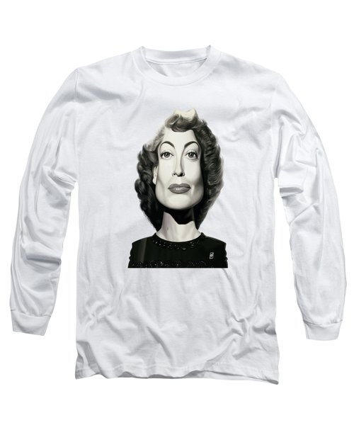 Celebrity Sunday - Joan Crawford Long Sleeve T-Shirt