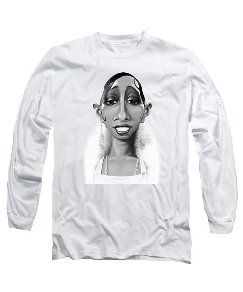 Celebrity Sunday - Josephine Baker Long Sleeve T-Shirt
