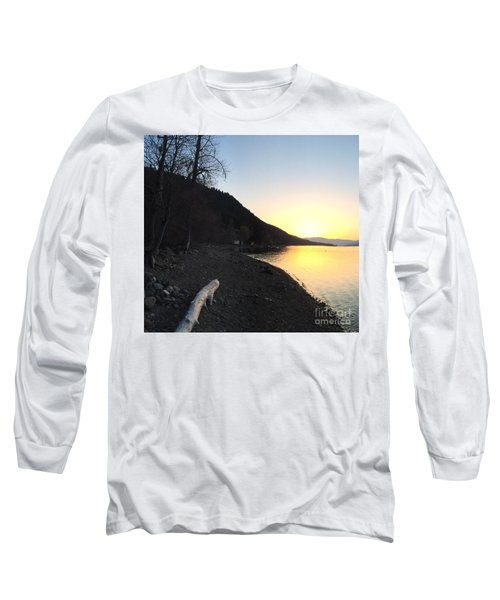 Long Sleeve T-Shirt featuring the photograph Celista Sunrise 1 by Victor K
