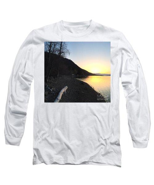 Celista Sunrise 1 Long Sleeve T-Shirt by Victor K