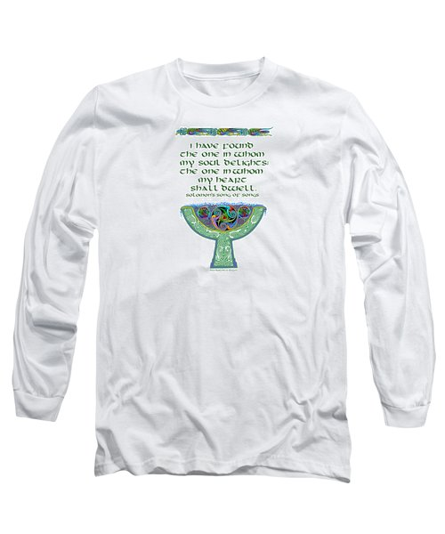 Celtic Wedding Goblet Long Sleeve T-Shirt