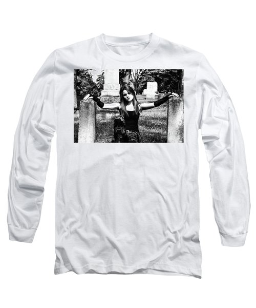 Cemetery Girl Long Sleeve T-Shirt