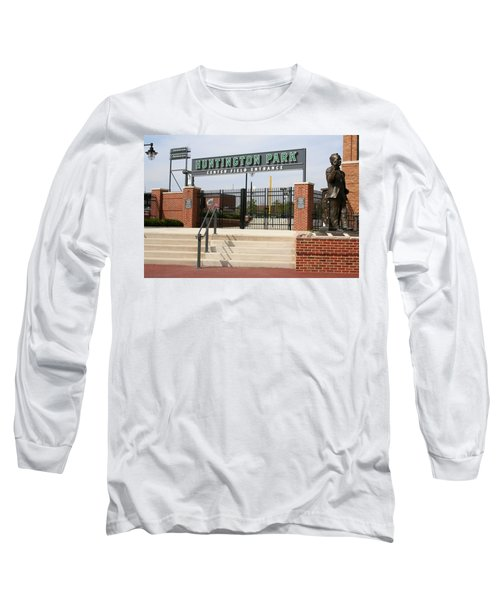 Center Field Entrance At Huntington Park  Long Sleeve T-Shirt