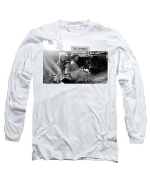Center Long Sleeve T-Shirt