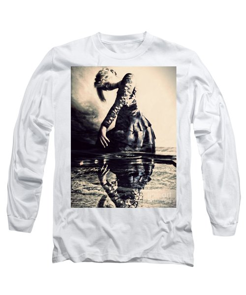 Cerebration Long Sleeve T-Shirt by Jessica Shelton