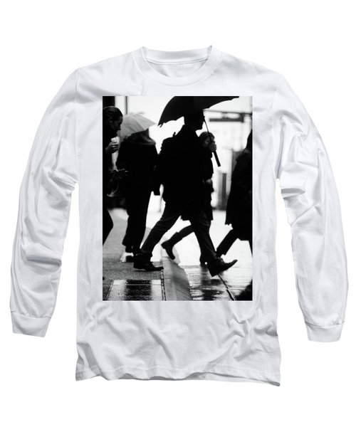 Challenge Of Peace  Long Sleeve T-Shirt by Empty Wall