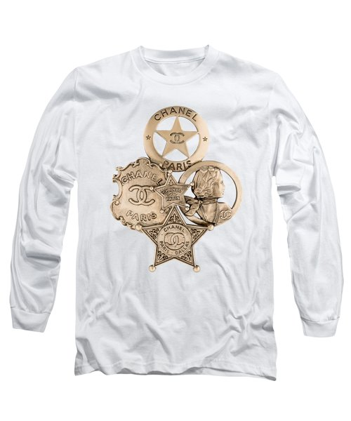 Chanel Jewelry-16 Long Sleeve T-Shirt
