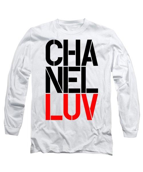 Chanel Luv-5 Long Sleeve T-Shirt