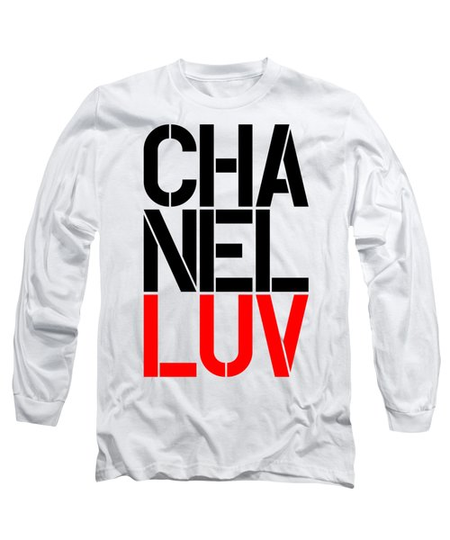 Chanel Luv-5 Long Sleeve T-Shirt