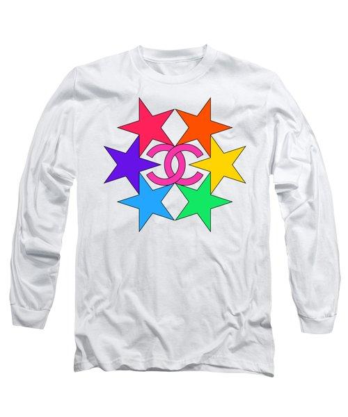 Chanel Stars-15 Long Sleeve T-Shirt