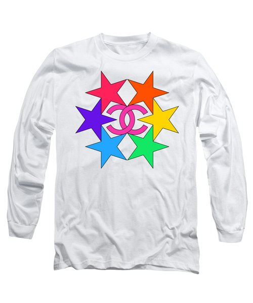 Chanel Stars-15 Long Sleeve T-Shirt