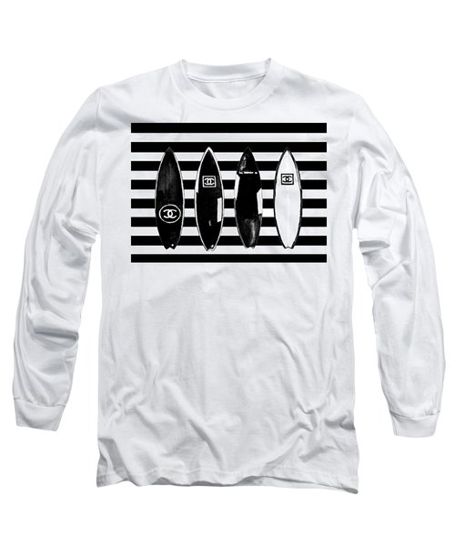 Chanel Surfboards Poster Chanel Surfboards Print Long Sleeve T-Shirt