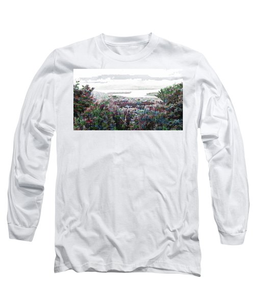 Long Sleeve T-Shirt featuring the mixed media Change Of Seasons by Mike Breau