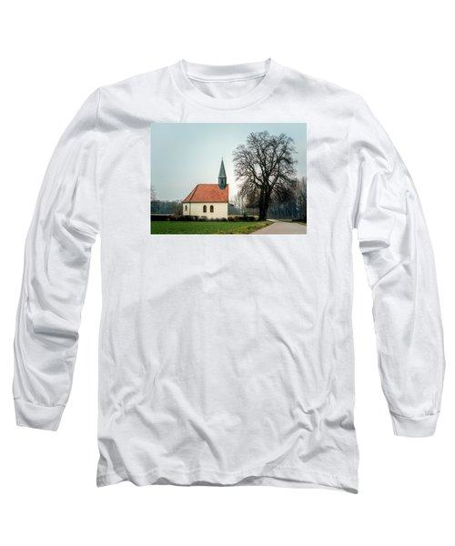 Chapel Under The Tree Long Sleeve T-Shirt by Daniel Precht