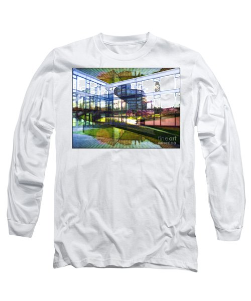 Chaplin Ihn Strassburg Long Sleeve T-Shirt by Mojo Mendiola